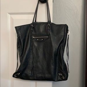 Authentic Balenciaga Papier Ledger Tote